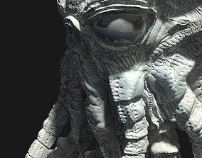 Martian from War of the worlds 3D print model monster