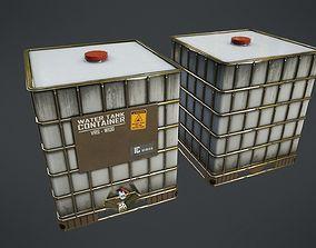 Water Tank 3D asset VR / AR ready