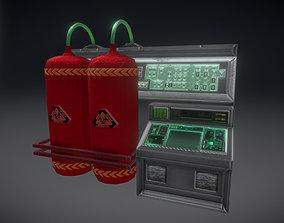 Control Panel 3D asset