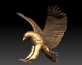 eagle scupture 3D print model
