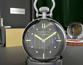 Table clock 3D