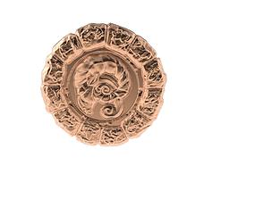 3D print model Medal Astro Aries
