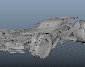 vehicle 3D batmobile
