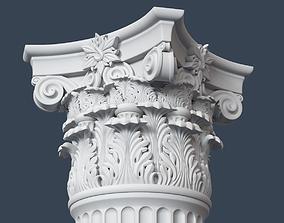 Corinthian Column column 3D model