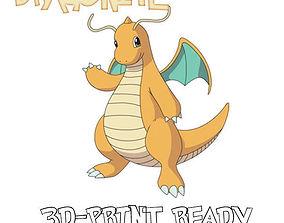 Dragonite - 3d print model
