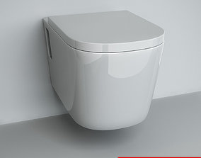 3D Wall-mounted Toilet 02