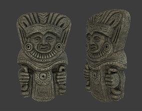 Shaman Tribal Mask 3D asset