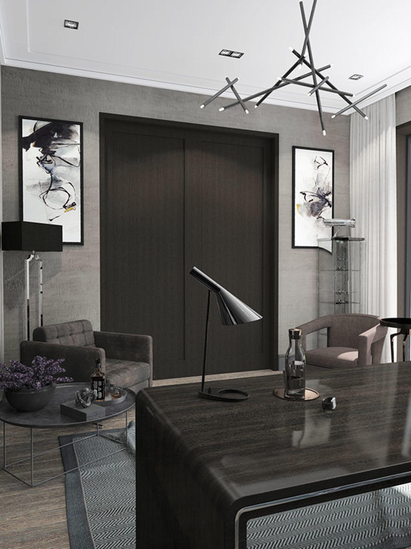 cabinet in a private home