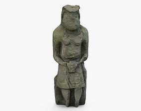 Ancient statue 3D