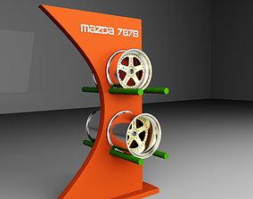 Mazda 787B Rims 3D