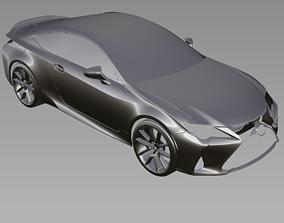 2019 LEXUS RC300 RC350 3D Scan Data 3D model 3D print