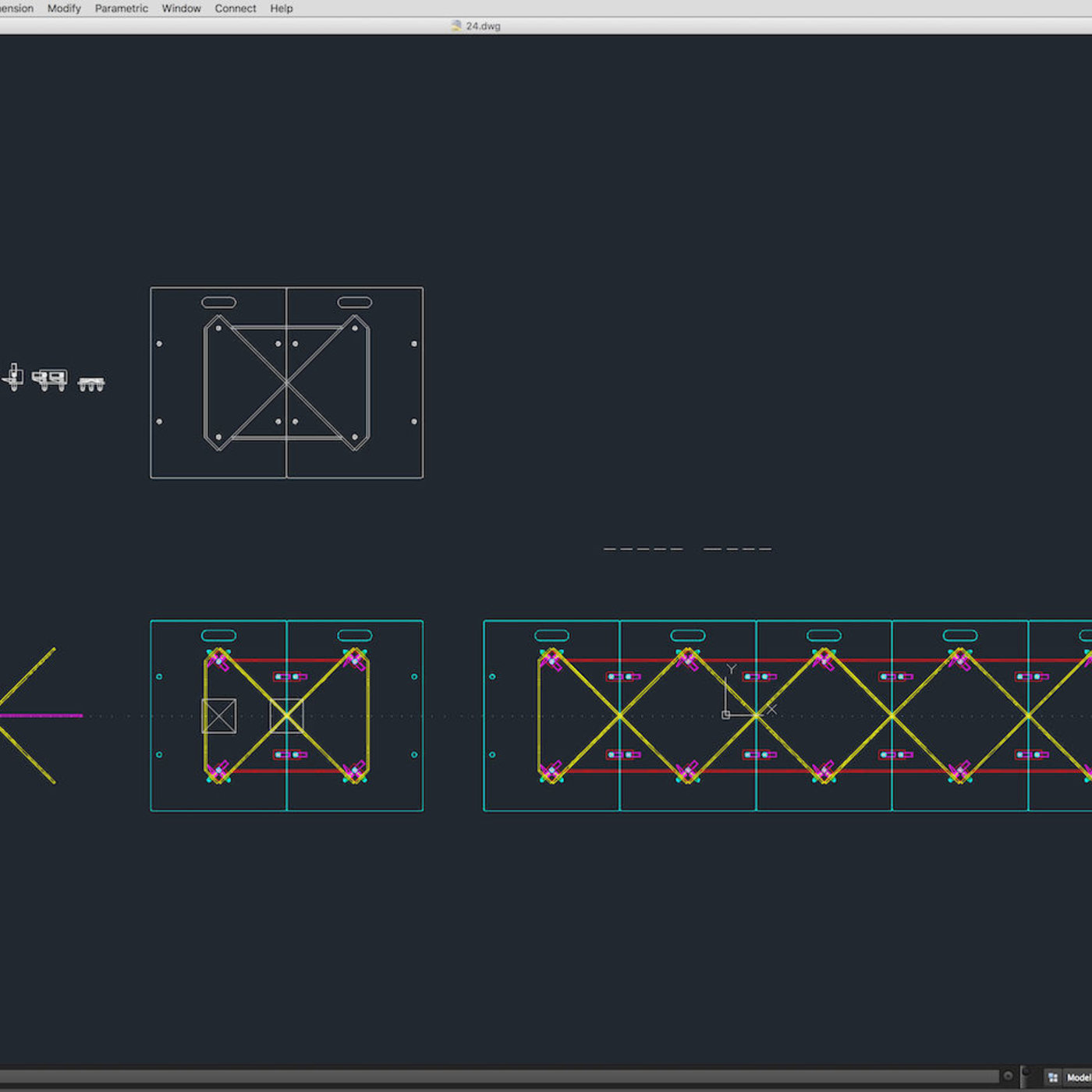 Stage Decor 24 Modular Wall Column