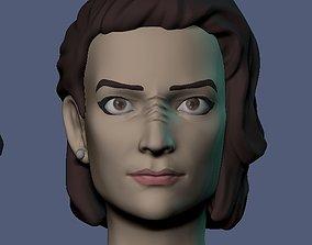 Kira Nerys Star Trek 3D print model