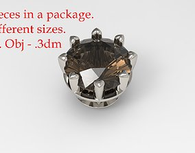 Jewelry Prong Head Set Package 059 3D print model