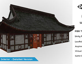 Fantasy Medieval Oriental Chinese Environment 3D asset 3