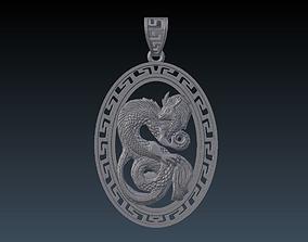 Pendant Drago 3D print model