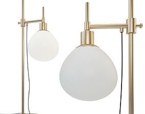 Table lamp Maytoni Erich MOD221-TL-01-G 3D