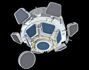 Cupola ISS Module 3D model