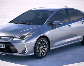 3D model Toyota Corolla Hybrid 2020