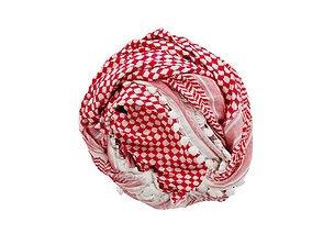 3D model HeadScarf Delicate