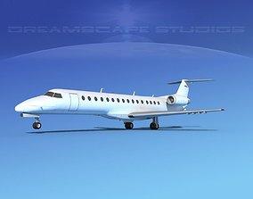 Embraer ERJ-140 Unmarked 1 3D