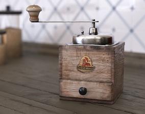 Coffee Grinder Zassenhaus 3D model
