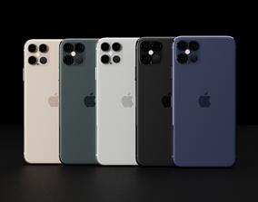 3D asset Concept of Apple iPhone 12 Pro Max LiDAR Design
