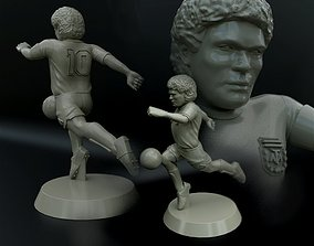 Diego Maradona 3D printable model