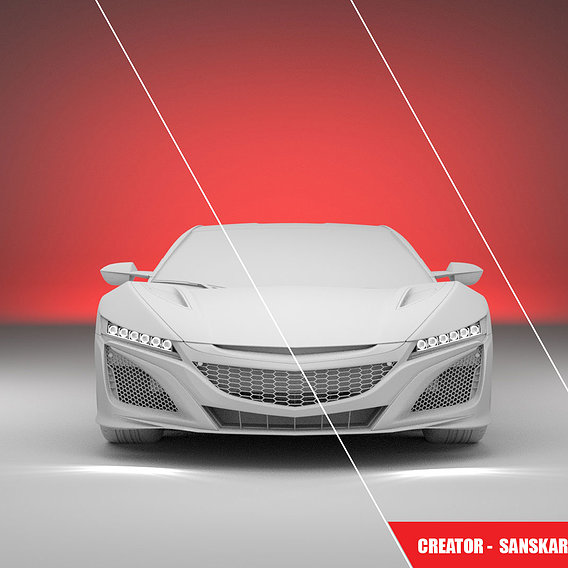 Car_Modling _And_Render_Rest