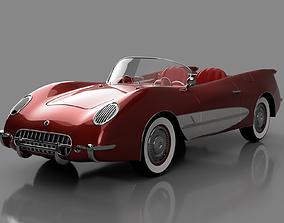 3D print model Chevrolet Corvette