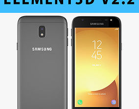 E3D - Samsung Galaxy J3 Official 2017 Black model 3D