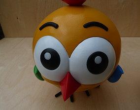 Bird toy fun 3D print model