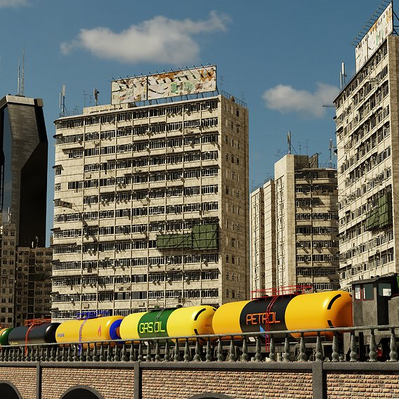 Trains Rendering