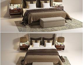 3D ART DECO BED 09