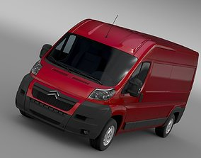 3D model Citroen Relay Van L3H2 2006-2014