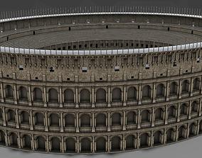 Colosseum Undamage 3D asset realtime