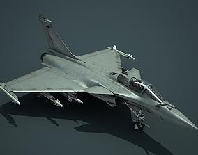 Dassault Rafale Fighter 3D model