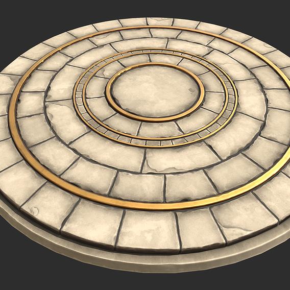 Stylized Stone Floor