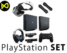 Sony Playstation Complete Set 3D