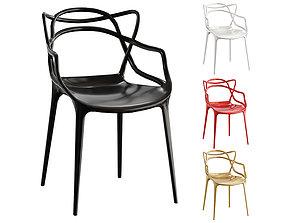Kartell Masters Chair BLENDER 3D Model Cycles