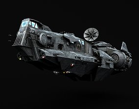 Star Wars Thranta class corvette 3D model