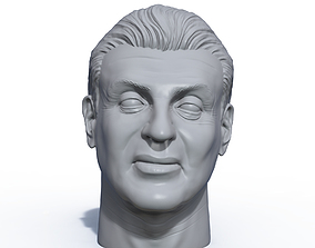 Sylvester Stallone 3D printable portrait