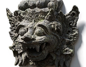 3D model Stone Barong Temple Guardian