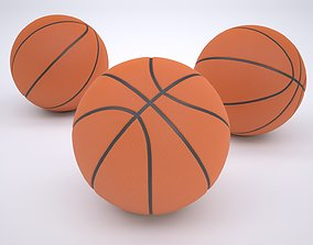 Basketball 3D model low-poly equipment