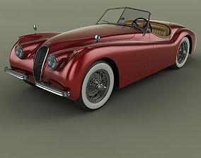 Jaguar XK120 Roadster 3D