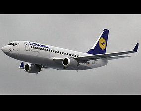 Boeing 737-700 Lufthansa 3D