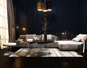 living-room houseware postmodern 3D model Living Room