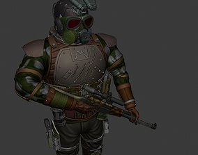 Metro Exodus soldier 3D printable model