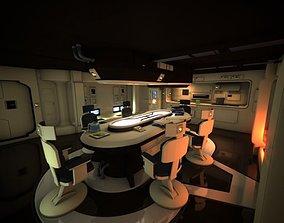 Spaceship Interior HD 1 3D