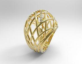 3D printable model anillo calado engaste